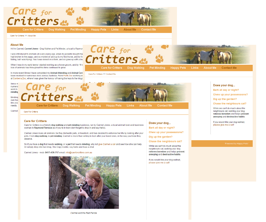 Care For Critters