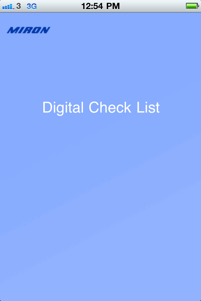 Digital Checklist